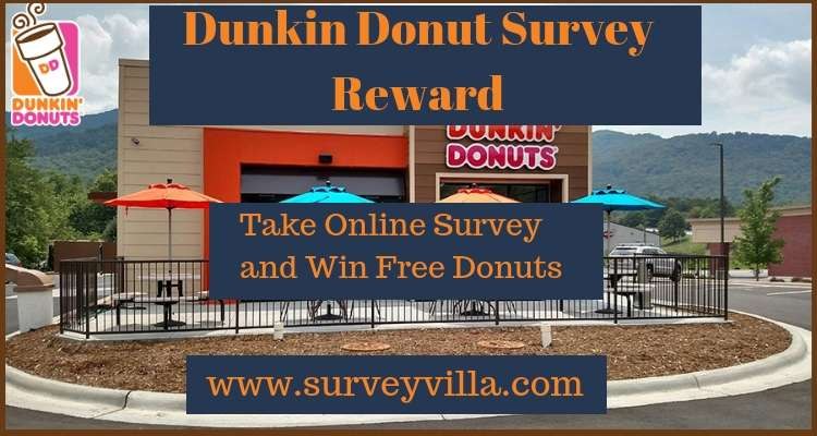 Tell Dunkin Donuts Guest Survey