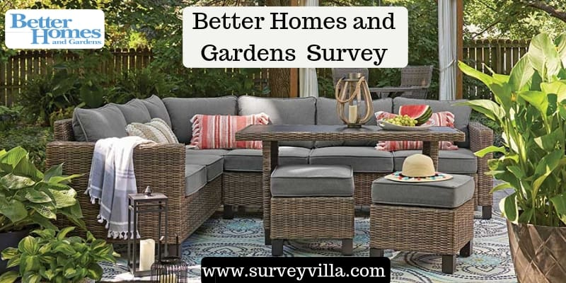 Better homes and gardens survey