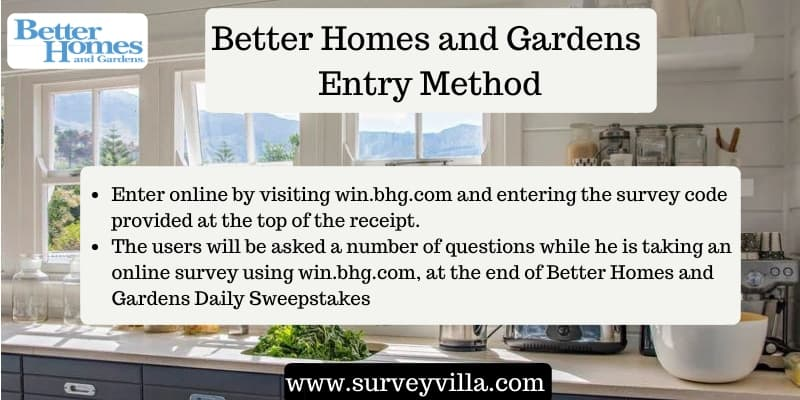 Take Better Homes And Gardens Sweepstakes At Win Bhg Com Win 100