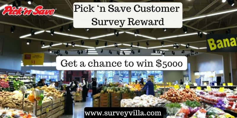 Picknsave survey