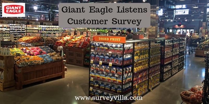 giant eagle listens survey