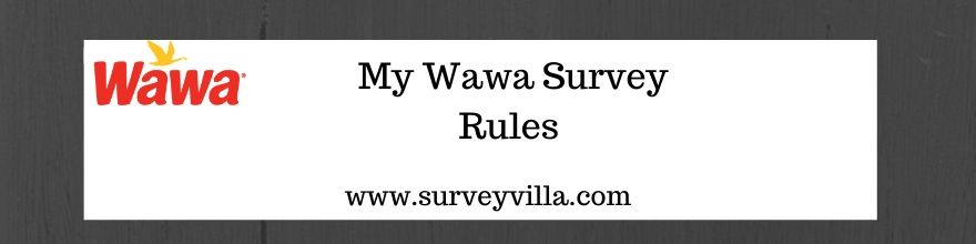 wawa customer survey