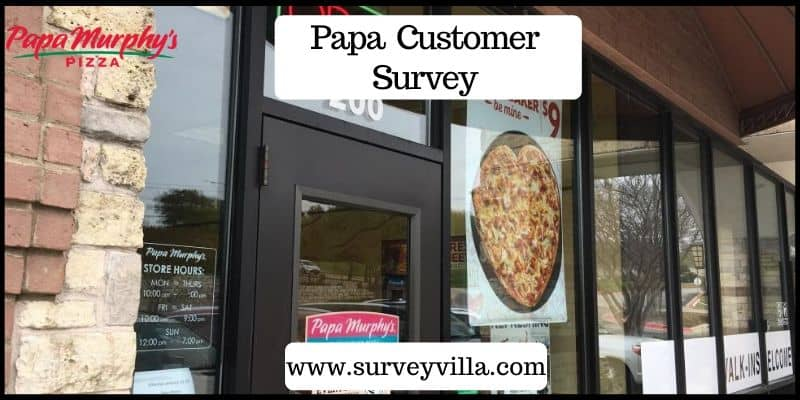 papa customer survey
