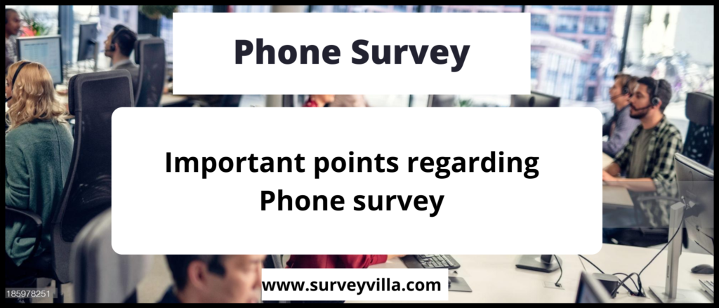 How to conduct a phone survey